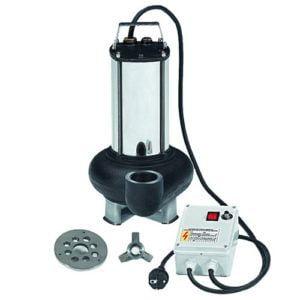 Electrobombas sumergibles para aguas residuales