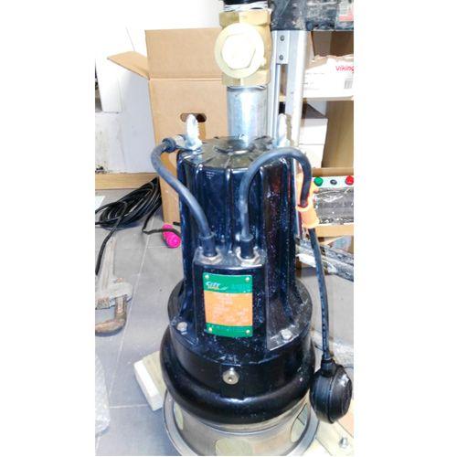 Bomba sumergible para aguas fecales con valvula anti retorno